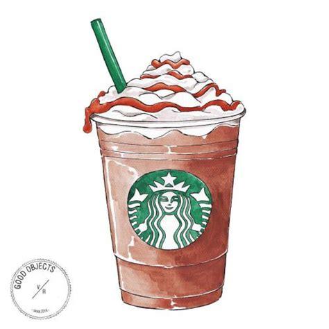 good objects caramel frappuccino butfirstcoffee
