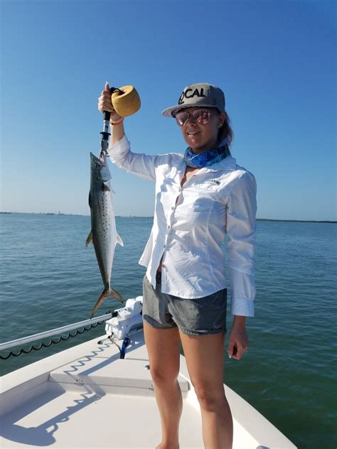 fishing clearwater beach florida tampa charter bay near report st pete spanish charters
