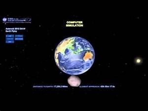 15.02.2013 - Asteroid 2012 DA14 - NASA Live - YouTube