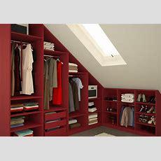 Kleiderschrank Für Die Dachschräge  Meine Möbelmanufaktur