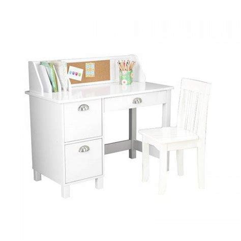 kidkraft study desk with chair white
