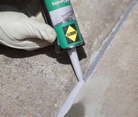 horizontal crack repairs   leveling sealant sakrete