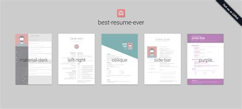 Best Resume Tools by Bestresumeever Previews Noupe