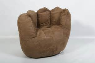 baseball glove bean bag chair home furniture design