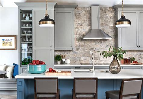 kitchen backsplash ideas photos 15 chic metallic kitchen