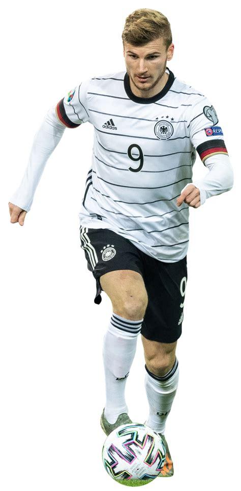 Timo Werner football render - 62149 - FootyRenders
