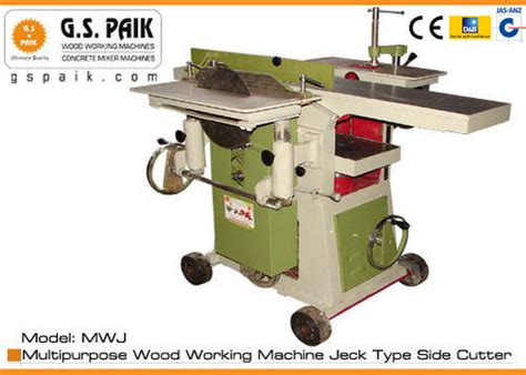 woodworking machines wood working machine  jack type