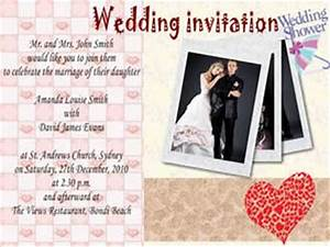 how to make a wedding invitation card With wedding invitation collage maker