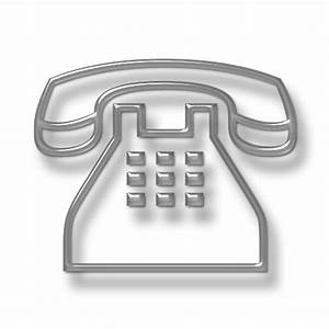 Traditional Clear Telephone (Phone) Icon #076113 » Icons Etc