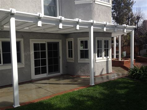 Free Standing Vinyl Patio Cover Kits by Free Standing Patio Covers