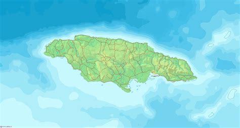 jamaika landkarten kostenlos cliparts kostenlos
