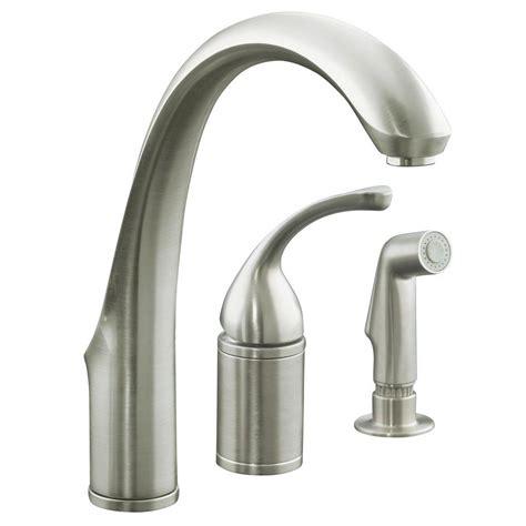 Home Decor Tempting Kohler Kitchen Faucet & Forte Single