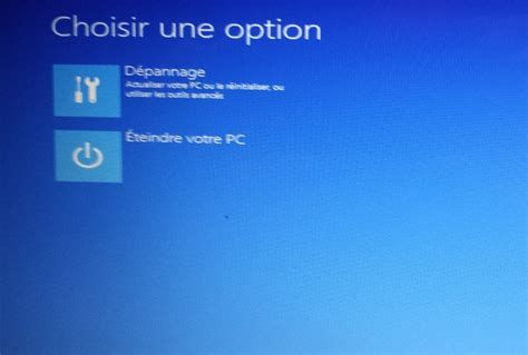 mon pc de bureau ne demarre plus windows 8 ne demarre plus