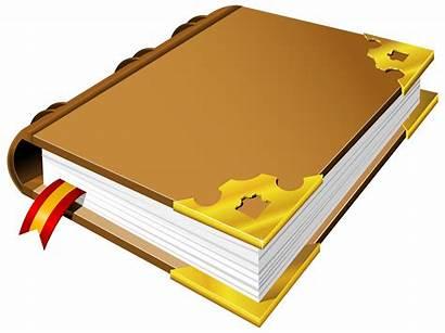 Clipart Brown Clip Books Cliparts Transparent Open