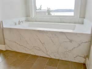 marble tub deck