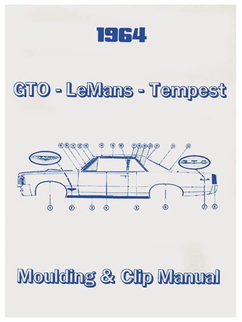 book repair manual 1991 pontiac lemans instrument cluster 1967 gto pontiac molding clip manuals opgi com