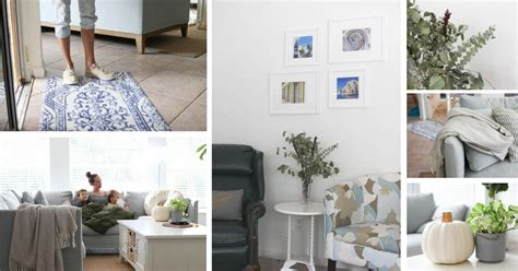 12 Easy Ways To Update Your Living Room by Easy Ways To Update Your Living Room On A Budget