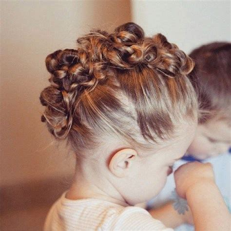 20 Adorable Toddler Girl Hairstyles in 2019 Little girl
