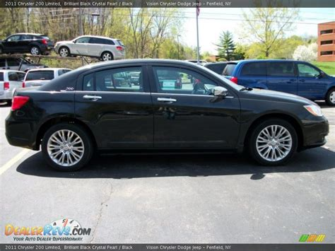 2011 Chrysler 200 Limited by 2011 Chrysler 200 Limited Brilliant Black Pearl