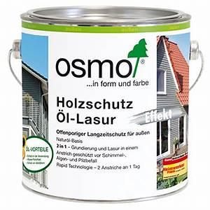 Holzschutz öl Außen : holzanstriche f r die fassade osmo holz und color gmbh co kg ~ Watch28wear.com Haus und Dekorationen