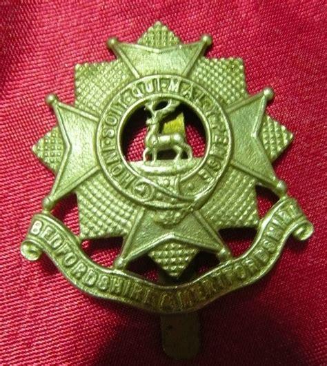 kitchener furniture store ww1 army badge bedfordshire hertfordshire from