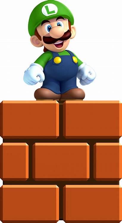 Luigi Super Mario Mini Bros Brothers Smash