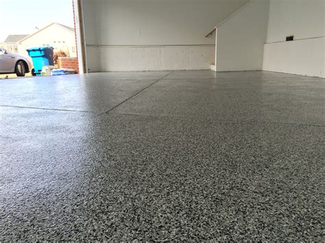 vinyl chip epoxy  decorative concrete