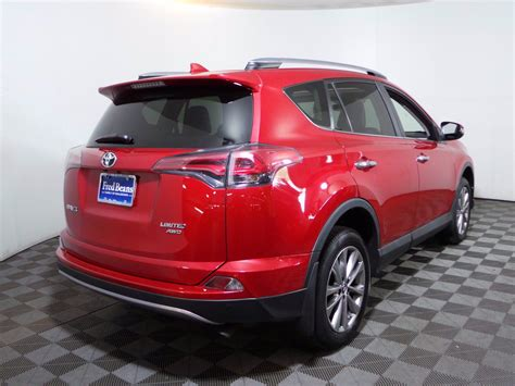 This was the first compact crossover suv. Certified Pre-Owned 2017 Toyota RAV4 Limited AWD Sport Utility
