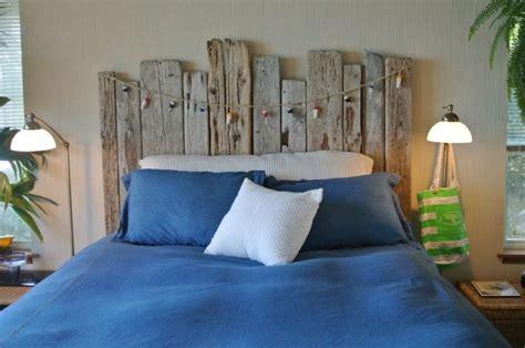 chambre bois flotté tête de lit bois flotté pour une chambre d 39 ambiance naturelle