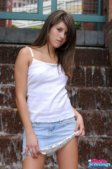 Shyla Jennings Hot Blonde Teen Shyla Jennings Babes
