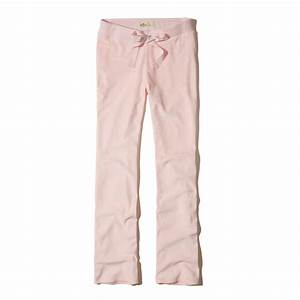 Hollister Velour Flare Sweatpants in Pink | Lyst