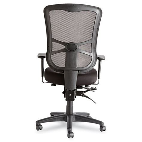 Hyken High Back Mesh Chair by Alera Elusion Series Mesh High Back Multifunction Chair Black