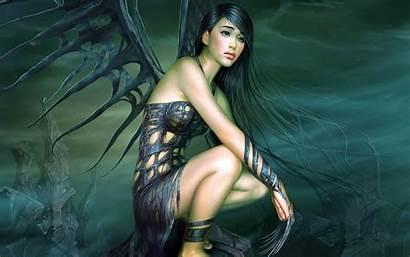 Angel Wallpapers Dark Gothic Desktop Sad Bonewallpaper