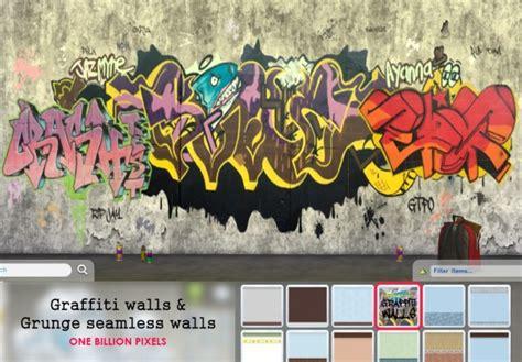 billion pixels seamless graffiti grunge walls