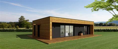 maison ossature bois contemporaine toit plat maison ossature bois toit plat mzaol