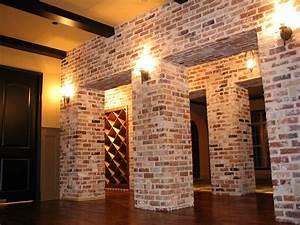 Using, Brick, Veneer, For, Interior