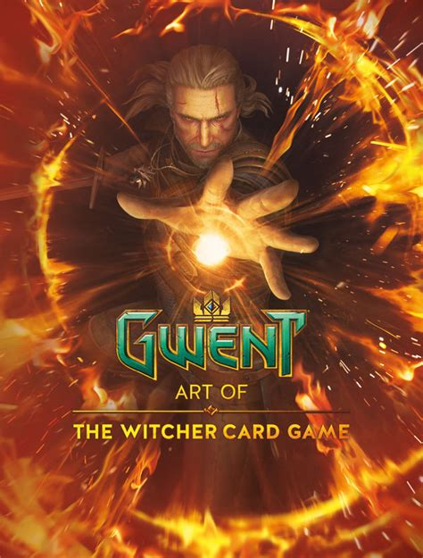 gwent art   witcher card game hc profile dark