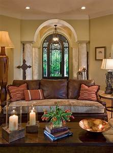 Brighten, Up, The, Home, With, Mediterranean, Living, Room, Ideas