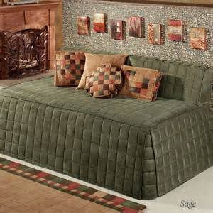 Collection Of Studio Day Sofa Slipcovers by Discontinued Camden Twin Hollywood Daybed Cover