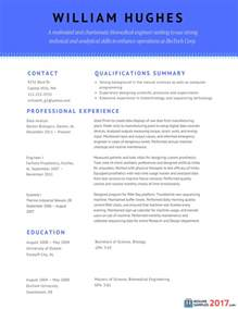 Resume Format 2017 by Great Combination Resume Sles Resume Sles 2017