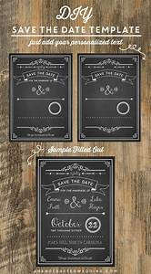 diy save the date template ahandcraftedwedding With diy save the date magnets template