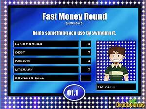 24 family feud powerpoint template with sound images With family feud fast money powerpoint template