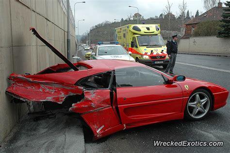 high speed crash   concrete wall caused  engine