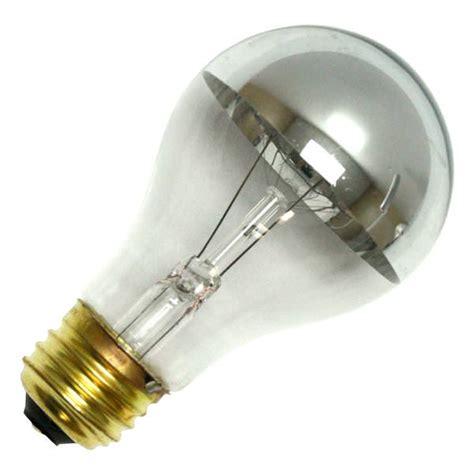 silver light bowl bulbrite bulb chrome watt bulbs volt a19 screw base medium application special incandescent elightbulbs e26