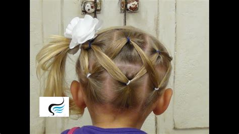 Cute And Simple Horizontal (zigzag Ponytail Hairstyles
