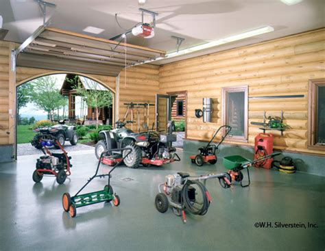garage workshop layout designs building  plans project