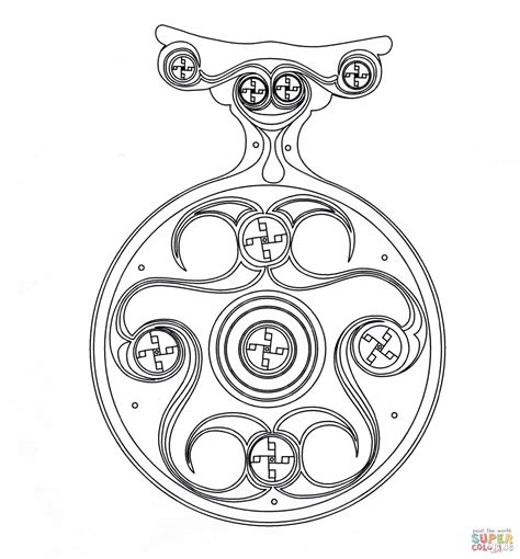 Adults Color Pages Free Printable Celtic Designs Coloring