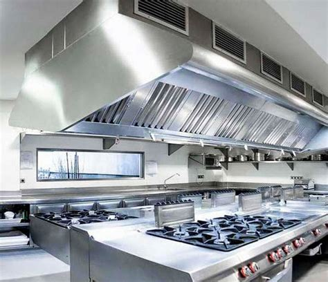 restaurant kitchens clean  hood cleaning