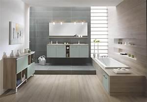Meuble Salle De Bain Moderne : salles de bains modernes et meubles de salle de bains ~ Nature-et-papiers.com Idées de Décoration