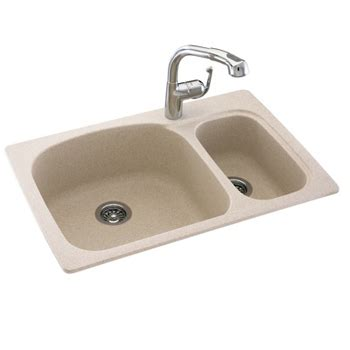 swanstone kitchen sinks home depot swanstone ksls 3322 050 bowl kitchen sink tahiti